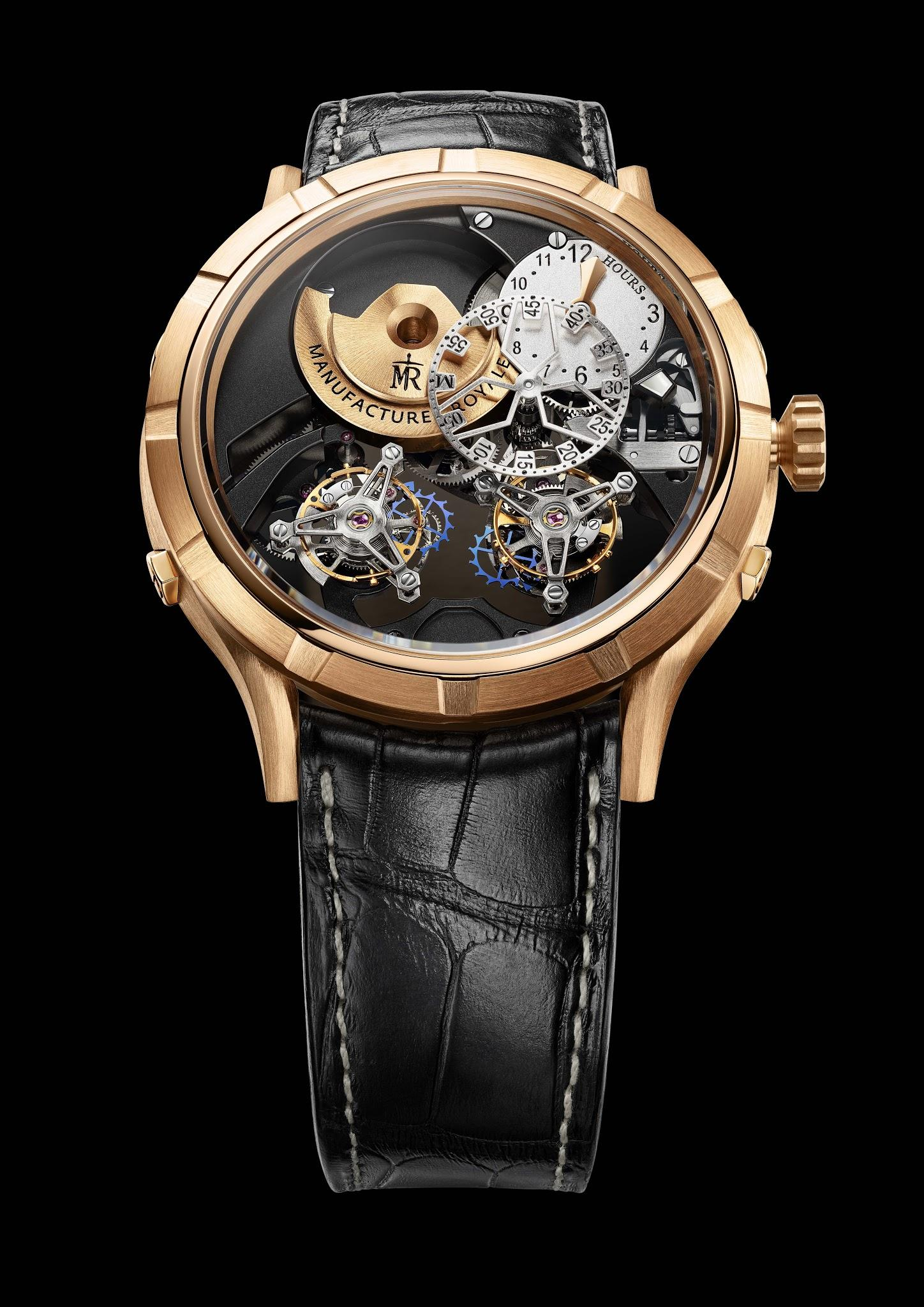 The new Manufacture Royale 1770 Micromegas Revolution
