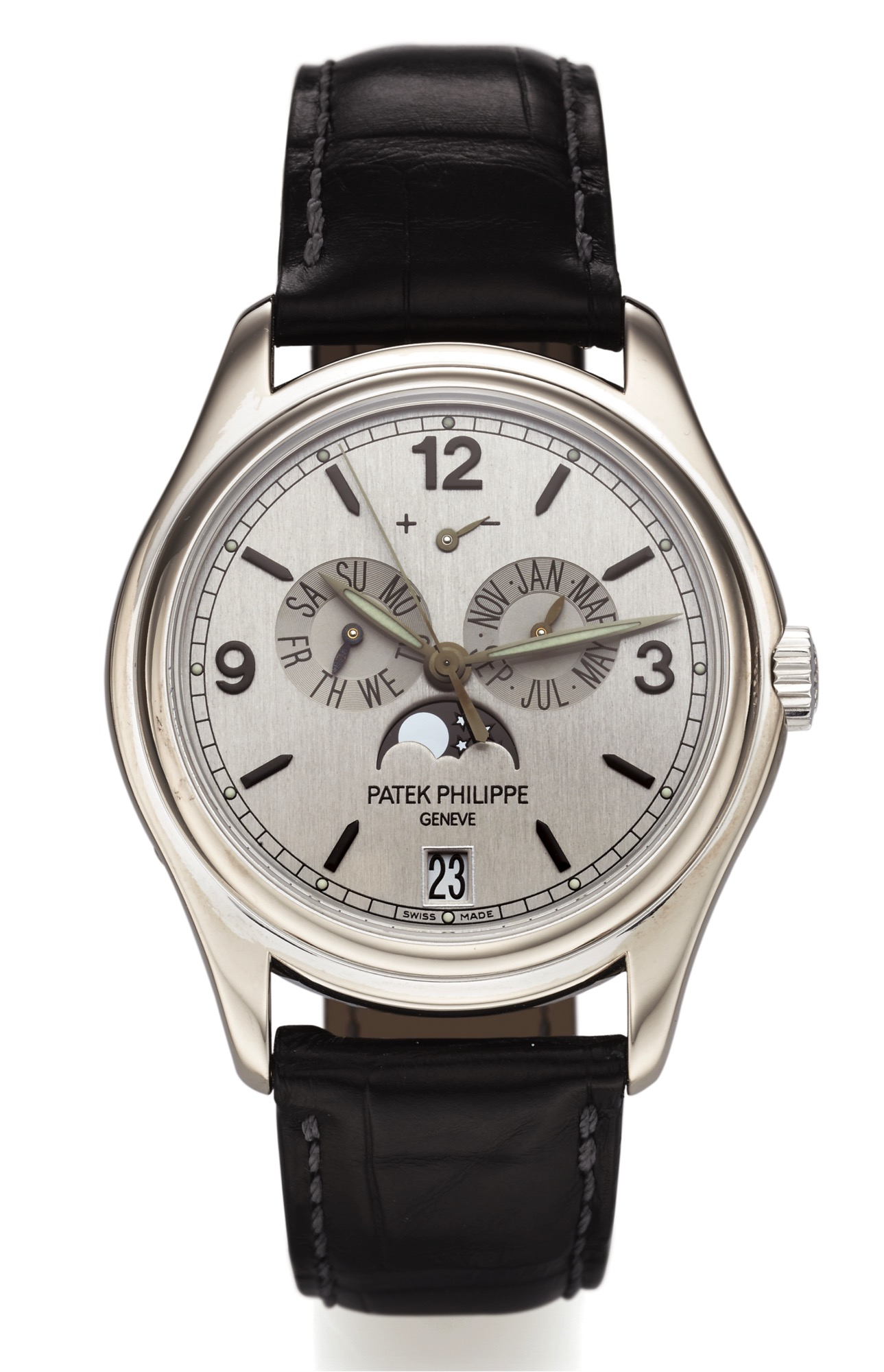 Patek Philippe Annual Calendar in white gold ref. 5250G