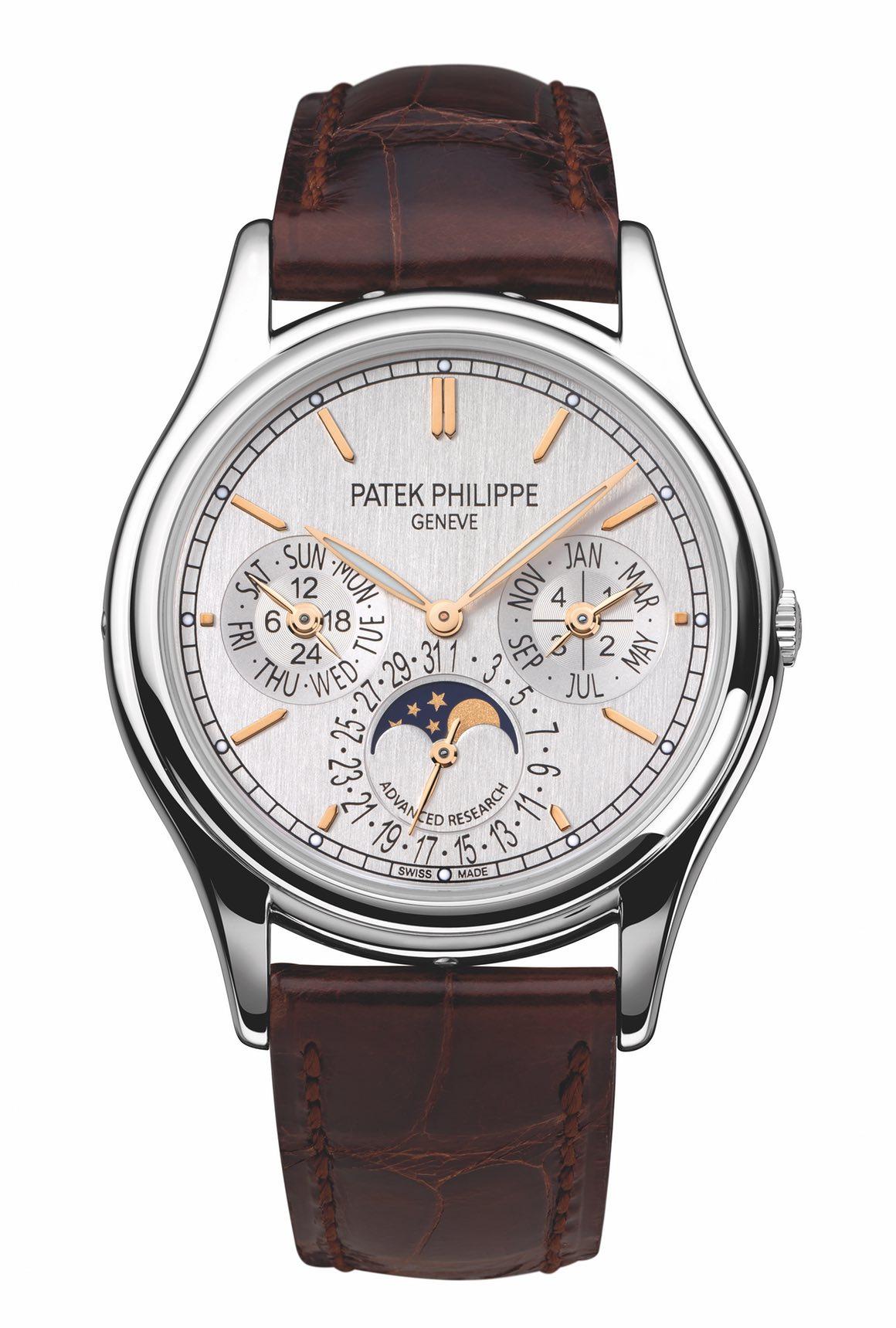Patek Philippe Perpetual Calendar in platinum ref. 5550P